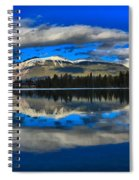 Reflections In Lac Beauvert Spiral Notebook