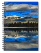 Reflections In Lake Beauvert Spiral Notebook
