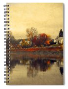 Reflections In Nakusp Spiral Notebook