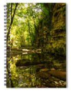 Reflections In Rio Pelago Spiral Notebook
