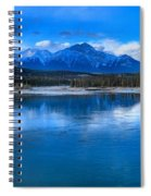 Reflections In The Athabasca Spiral Notebook