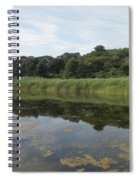 Reflections In The Marsh Spiral Notebook
