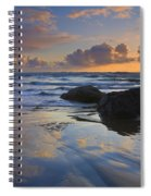 Reflections In The Sand Spiral Notebook