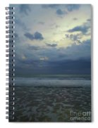 Reflections In The Surf Spiral Notebook