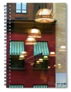 Reflections Light Buildings  Spiral Notebook
