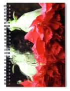 Reflections Of A Carnation Spiral Notebook