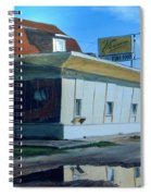Reflections Of A Diner Spiral Notebook