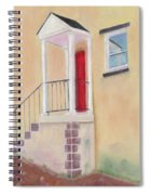 Red Door - Baltimore Spiral Notebook
