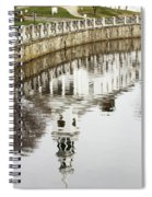 Reflections Of Church Spiral Notebook