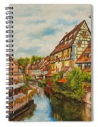 Reflections Of Colmar Spiral Notebook