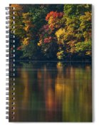 Reflections Of Colors Spiral Notebook