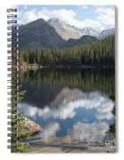 Reflections Of Majestic Mountains Spiral Notebook