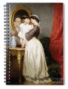 Reflections Of Maternal Love Spiral Notebook