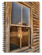 Reflections Of Montana Mining Spiral Notebook