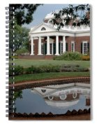 Reflections Of Monticello Spiral Notebook