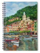 Reflections Of Portofino Spiral Notebook