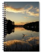 Reflections Of Sailboat Cove Spiral Notebook