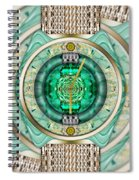 Reflections Of Time Spiral Notebook