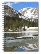 Reflections On Chinns Lake 5 Spiral Notebook