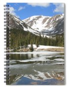 Reflections On Chinns Lake 6 Spiral Notebook