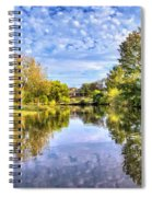 Reflections On Cibolo Creek Spiral Notebook