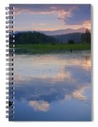 Reflections On Mica Bay Spiral Notebook