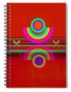Reflections On Red Spiral Notebook