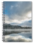 Reflections On Reflection Lake 5 Spiral Notebook