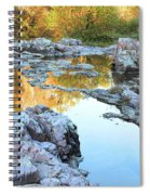 Reflections On Rocky Creek 2 Spiral Notebook