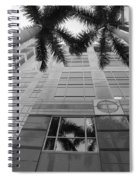 Reflections On The Building Spiral Notebook