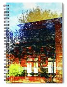 Reflections On The Old Depot Spiral Notebook