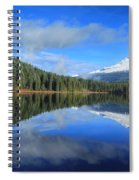 Reflections On Trillium Spiral Notebook