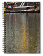 Reflections On Water Spiral Notebook