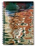 Reflections Venice_dsc4687_03032017 Spiral Notebook