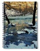 Reflective Chill Spiral Notebook
