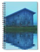 Reflective Morning Spiral Notebook