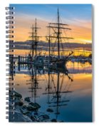 Reflectons On Sailing Ships Spiral Notebook