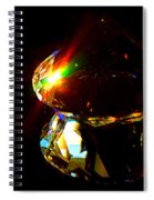 Refraction Reflection Spiral Notebook