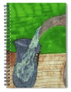 Refreshing Water Spiral Notebook
