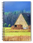 Refuge Barn Spiral Notebook