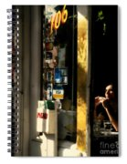Refuge - Quiet Little Table In The Corner Spiral Notebook