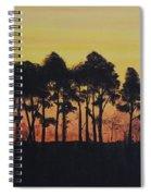 Refuge Sundown Spiral Notebook