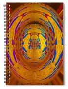 Regal Bow Knot Spiral Notebook