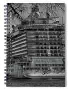 Regal Princess Hamilton Spiral Notebook