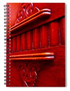 Regally Red Spiral Notebook