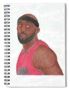 Reggie Evans Spiral Notebook
