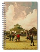 Rehoboth Beach In Fall Spiral Notebook