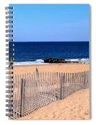 Rehoboth Beach Panorama Spiral Notebook