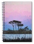 Rehoboth Beach Sunset Spiral Notebook