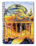 Reichstag And Flower Spiral Notebook